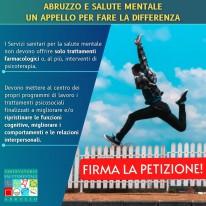 Osservatorio Salute Mentale Abruzzo - Petizione