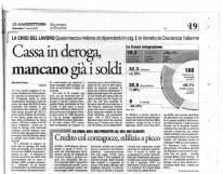 La crisi del lavoro e i soldi che mancano per gli ammortizzatori in deroga: conferenza stampa a Pescara