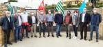 Festa del lavoro. Sit-in sindacati al fianco dei lavoratori di Brioni