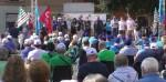 Teramo, Sindacati scendono in piazza per l'occupazione