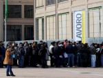 Pescara, la protesta dei lavoratori Anpal