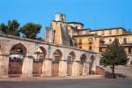 Sulmona, il presidio alla clinica San Raffaele